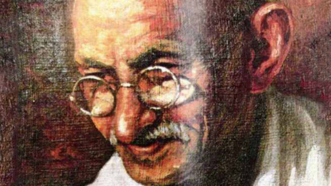 Paintings of Gandhi