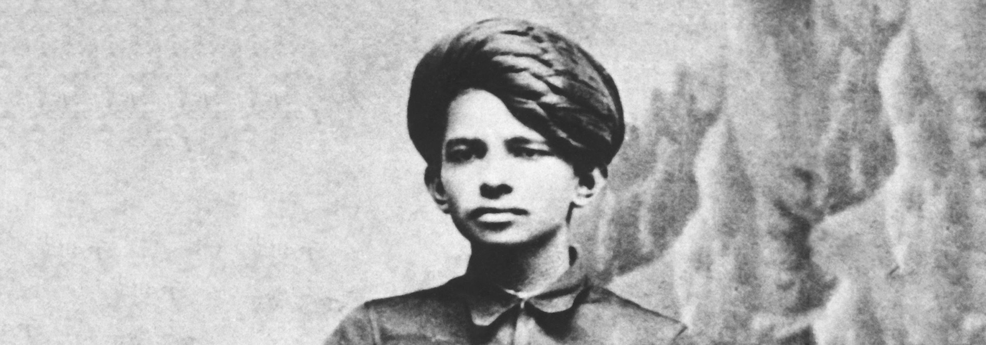 Gandhi at age 17, Rajkot, Gujarat